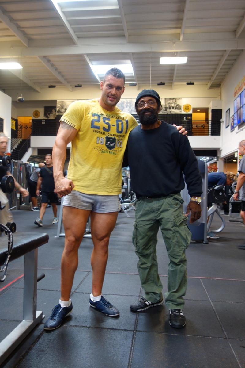 S Charlesom Glassom Gold´s gym Venice California